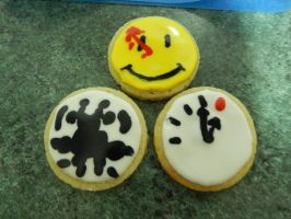 Watchmen iced biscuits by Diotima96