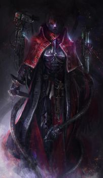 Tech Priest Inquisitor by theDURRRRIAN