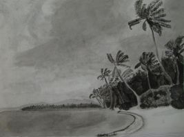 Tropics -Black Watercolor- by yangster88