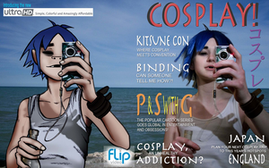 COSPLAY Magazine by krazorspoon