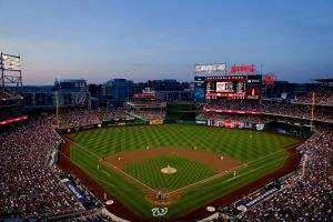 Nationals Park at Dusk by sharktankfan