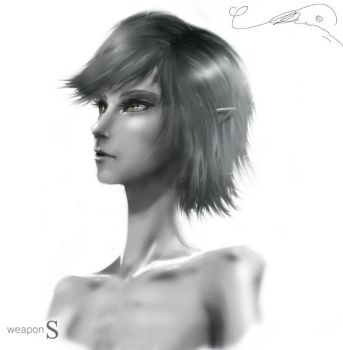 Elly's haircut by Elleylie