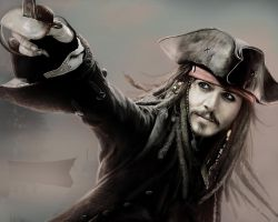 Captain Jack Sparrow by ecilARose