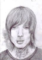 Oliver Sykes by Merethor