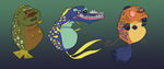 Fish Palettes by BrianDanielWolf