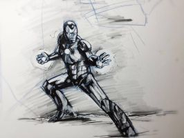 Iron sketch by fifoux