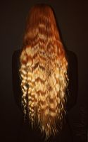 Galadriels hair by Nilenna