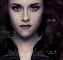 Bella Cullen BD2 poster w/full face and 2 eyes))) by msBentley