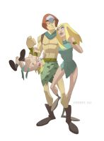 Meet the Herculoids colored by cheeks-74