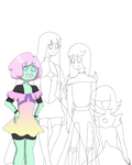 Gems- WiP by Winged-CatGirl-Kin