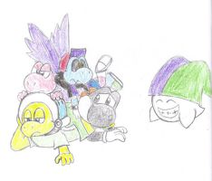 Dogpile Gone Wrong... by Drarin1
