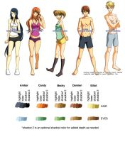 Fanime Character Sheet by fanimecon