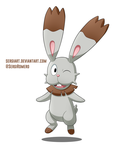 Day 28 - Bunnelby by SergiART