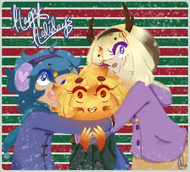 Christmas Girls by Hachi-ban