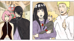 Naruhina and Sasusaku by naruto3119