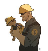 Engie and Teddy by 2Dark