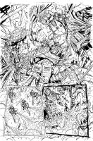 Grimlock page 06 inks by MarceloMatere