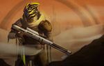 Gift - Turian Sniper by Essence-Of-Rapture