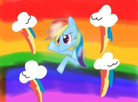 Rainbow Dash by spottedcloud123