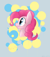 Pinkie Pie(just some practice) by Wonder-Waffle