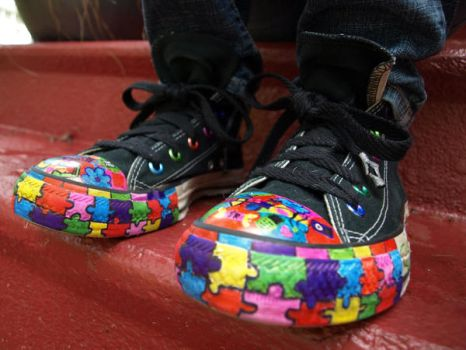 Colorful converse by Converse001
