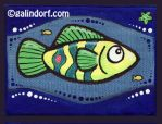 Green Fish by Galindorf