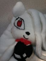 Whitelight the cat Plushie (Unfinished) by WhiteLight24