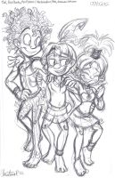 Tak and Pals -sketch- by LambityMoon