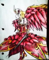 Cruel Angel of Roses by screameo4