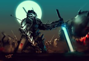Battle Survivors 30mins spitpaint challenge by benedickbana