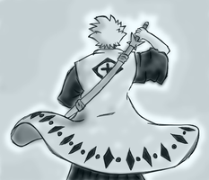 Hitsugaya Quick Drawing by J0S3F3R