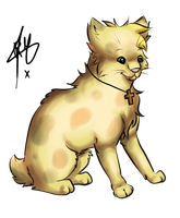 Cat by RippedMoon