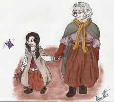 Granny And Red by Blackangel94a