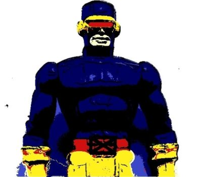 X-Men Pop Art Cyclops by DevintheCool