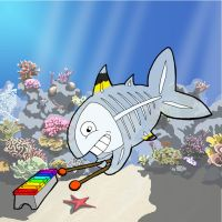 Xavier the xray-fish... by Gregatron