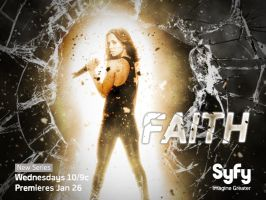 Buffy + Angel Wallpaper Poster: Faith by roaditr