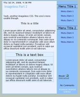 Minimal Blue Journal CSS by timmy64