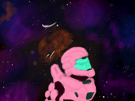a m00s in space by rabidminimoose