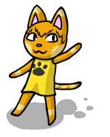 Animal Crossing Style: Mark by AgentQwilfish