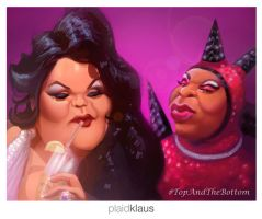 RuPaul's Drag Race: S06 E03 - The Top and Bottom by plaidklaus