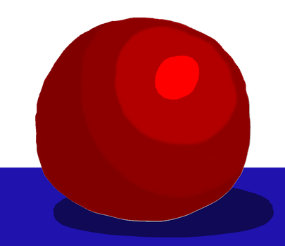 Shaded Ball by DCHorror