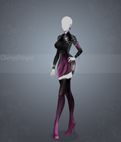 (closed) Auction Adopt - Outfit 434 by CherrysDesigns