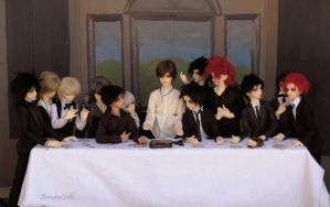Last Supper - Mafia Style by Amoraseth