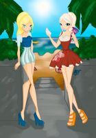 CE:Summer Outfit by magicvictoriana