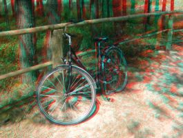 Old bicycle by Vaknyk