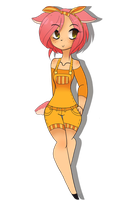 OC: Momo the Deer (Adopted) by Balance-Song