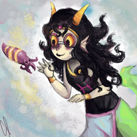 Feferi and Cuttlefish by AgentCorrina