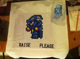 Dragoon Pillow Cover by Hellbreaka