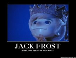 Jack Frost Demotivational Poster by twilightmemoirs