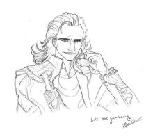 Loki sketch by Boxjelly1